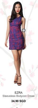 EZRA Sleeveless Bodycon Dress