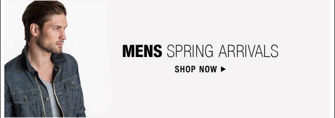 Mens Spring Arrivals - Shop Now