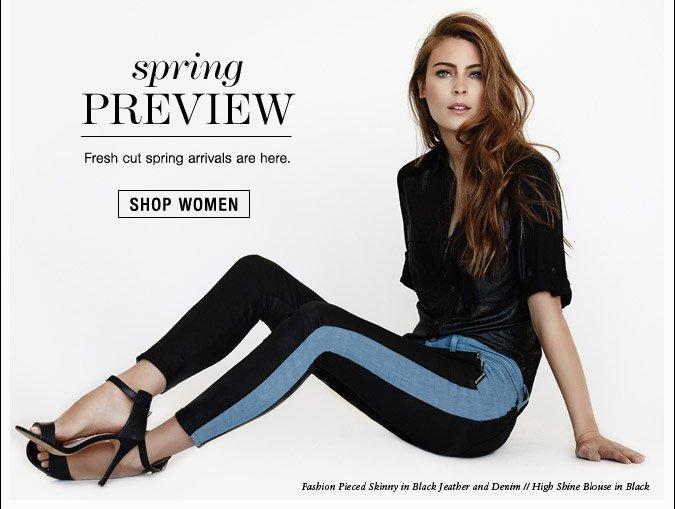 Spring Preview - Shop Women