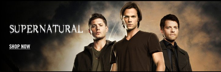 SUPERNATURAL - SHOP NOW