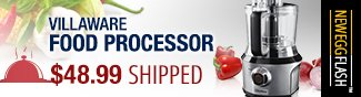 Newegg Flash - VillaWare Food Processor.
