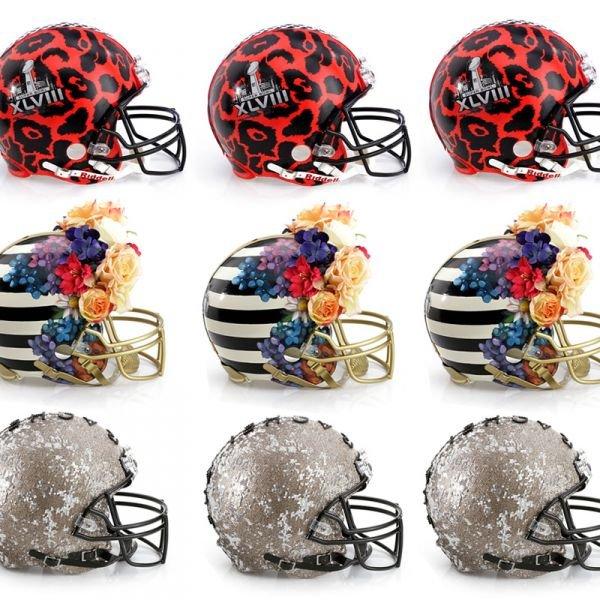 Bid Today: CFDA Designer NFL Helmets!