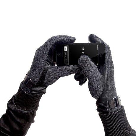 The Martel // Charcoal Knit // Men