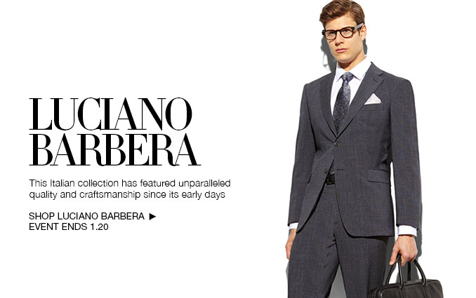 Shop Luciano Barbera Suits for Men