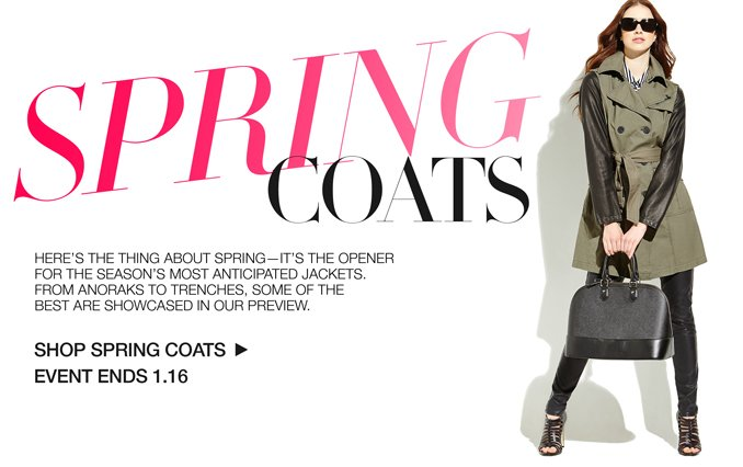 Shop Spring Coats for Women
