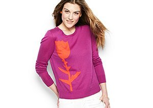 Pre-Spring Sweaters: Cheery Hues
