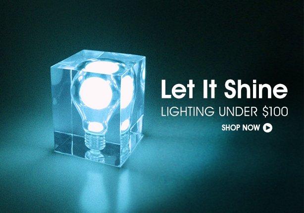 Lighting Under $100