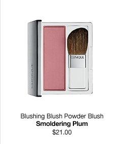 Blushing Blush Powder Blush. Smoldering Plum. $21.00