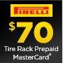 Pirelli Get a $70 Prepaid MasterCard by mail