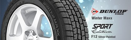 Dunlop Winter Maxx, Sport Edition F12 Silver Painted