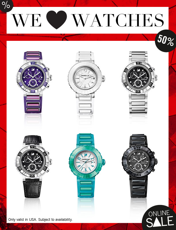 We ❤ watches