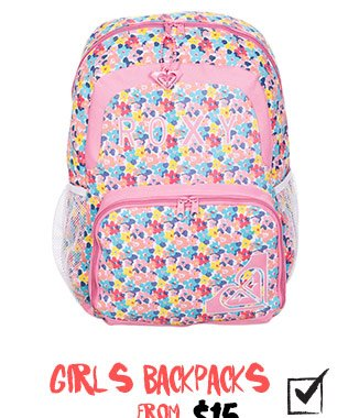 Shop Girls BackPacks