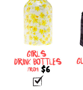 Shop Girls Drink Bottles