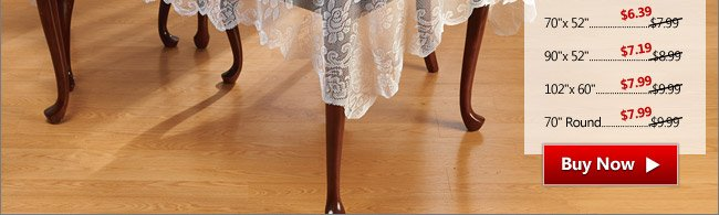 Elegant Lace Tablecloth