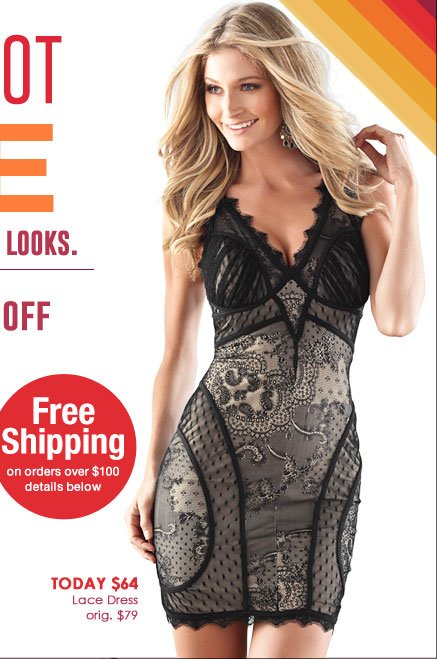 Gorgeous Lace Dress - regularly $79, TODAY ONLY price just $64!