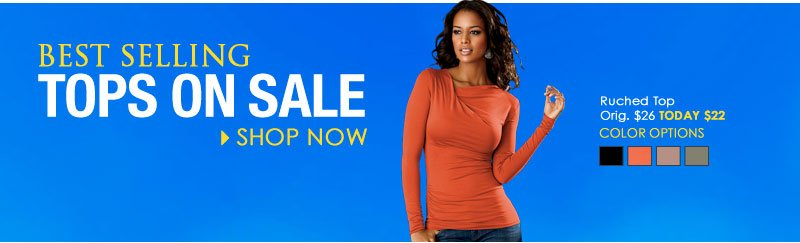 Top This! SHOP Best Selling Tops ON SALE!