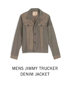 Mens Jimmy Trucker Denim Jacket