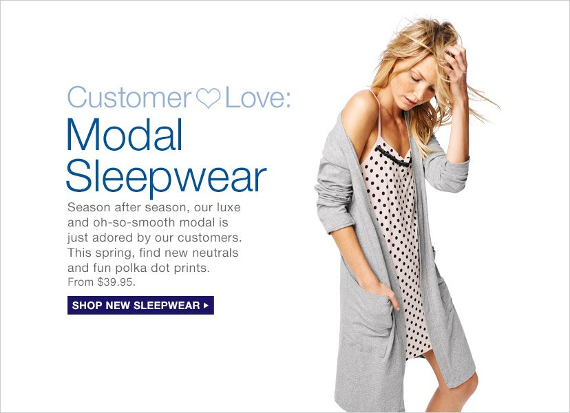 Modal Sleepwear | SHOP NEW SLEEPWEAR