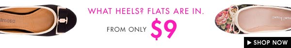Flats from $9