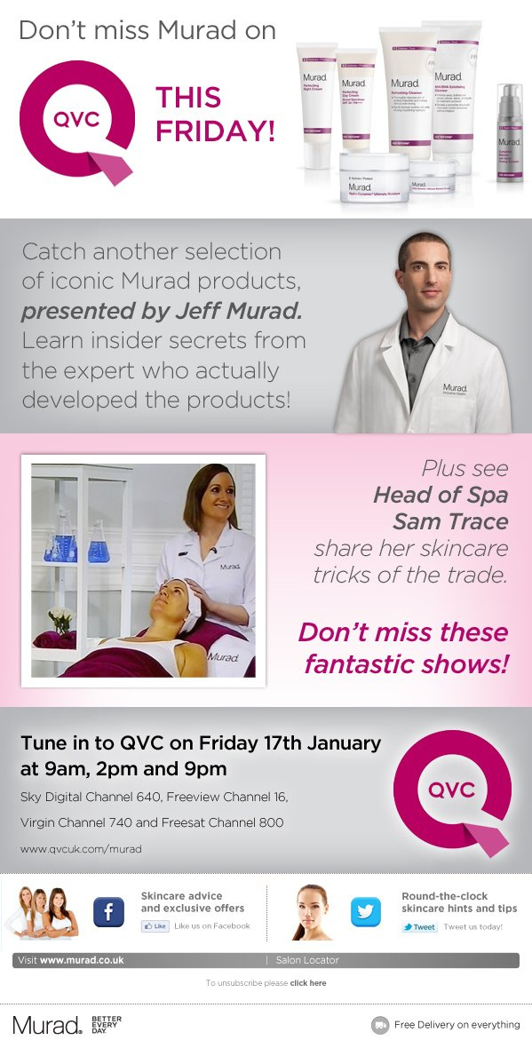 Exclusive Product Launch on QVC - tune in this Friday!