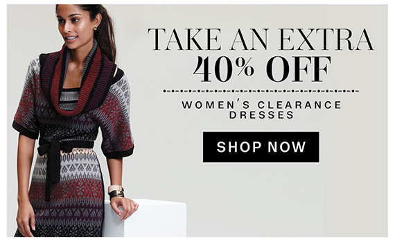 Take an Extra 40% Off. Women's Clearance Dresses. Shop Now