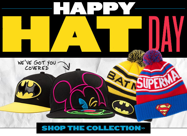 Happy Hat Day! We've got you covered.