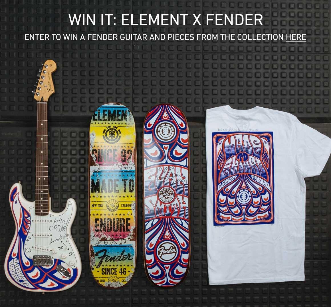Win It: Element x Fender