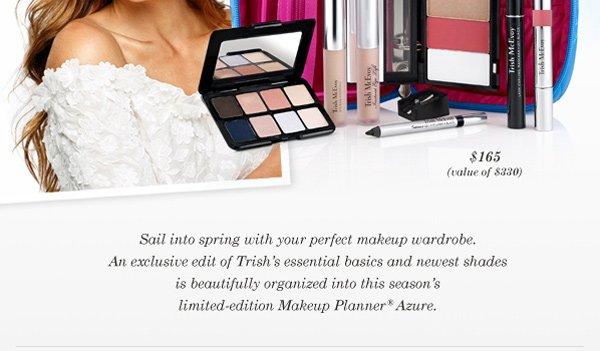 Trish McEvoy's Limited-Edition Makeup Planner® Azure.