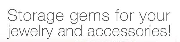 elfa  décor Jewelry & Accessory System SALE $8.99 - $34.30 »