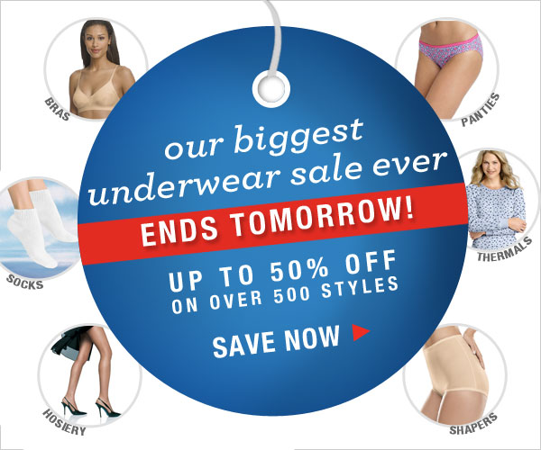 Shop our Biggest Underwear Sale Ever
