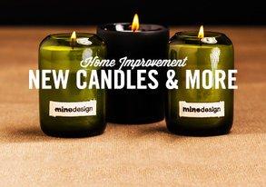 Shop Home Improvement: New Candles & More