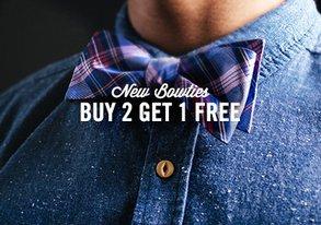 Shop Buy 2 Get 1 Free: Brand New Bowties