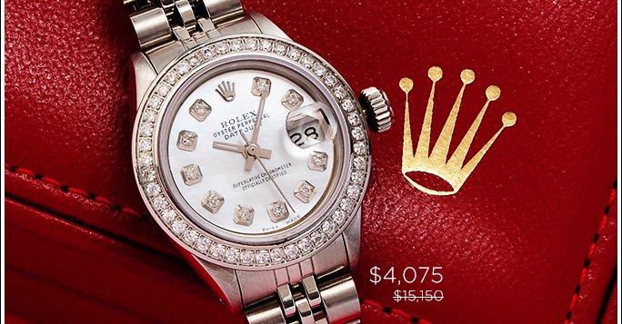 Rolex Ladies Datejust Jubilee Watch