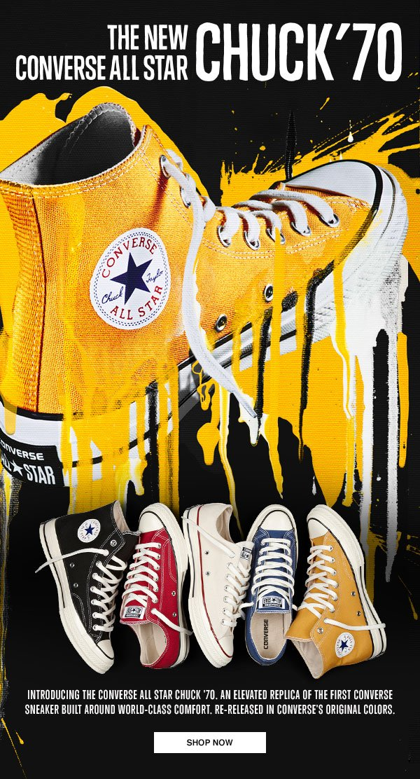 THE NEW CONVERSE ALL STAR CHUCK '70