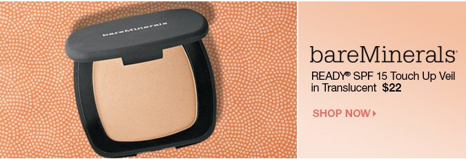 READY SPF 15 Touch Up Veil > Shop bareMinerals