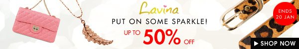 Lavina timed sale - Up to 50% off