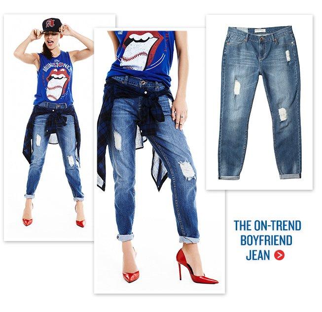 The On-Trend Boyfriend Jean