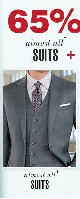 65% OFF Suits