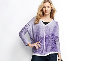Pre-Spring Sweaters: Cool Hues