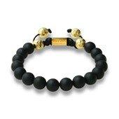 Women's Basic Gold Bracelet S, Black