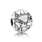 Globe silver clip