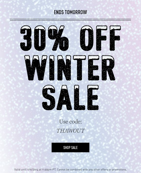 Up to 65% off sale items