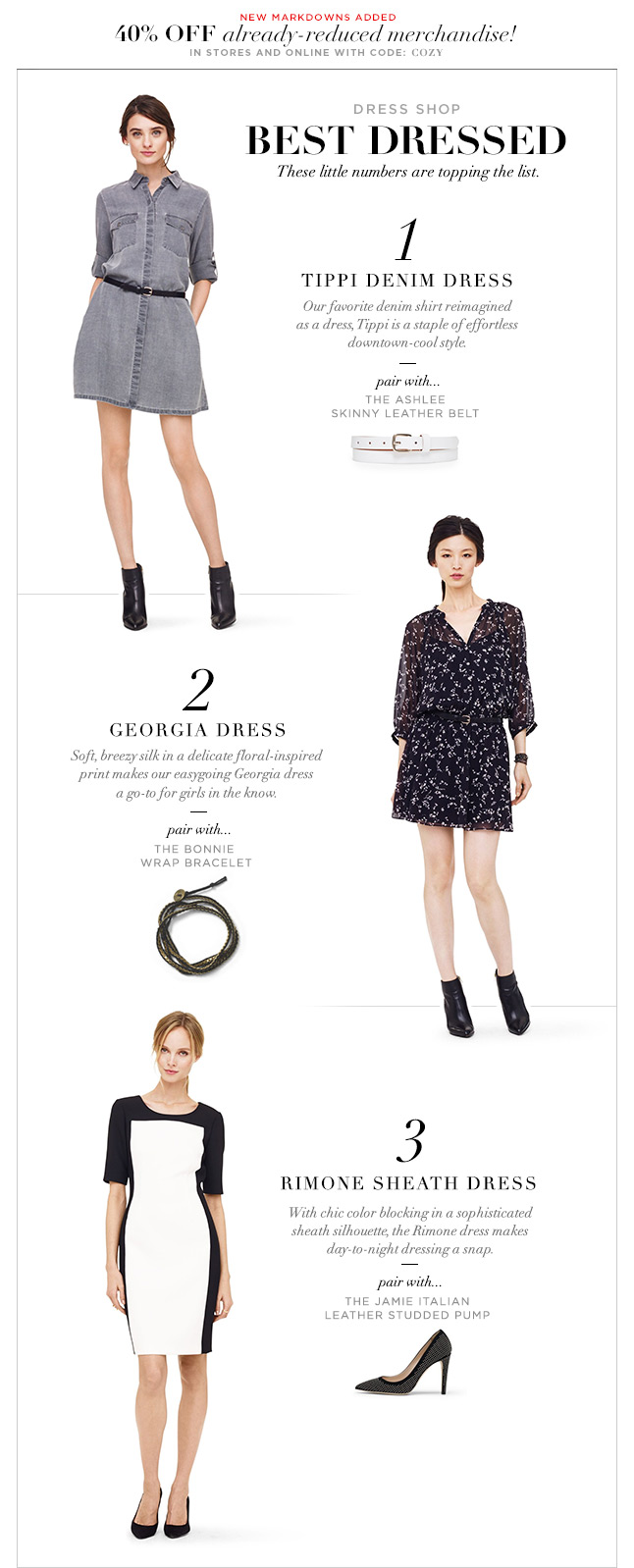 Dress Shop: Our New Top Favorites