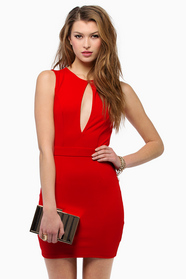 Vix Cutout Bodycon Dress 35