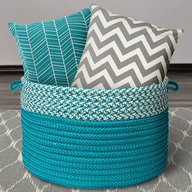 Color Story: Turquoise & Gray Textiles