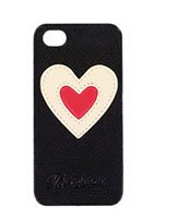 Heart Leather iPhone 5 Case