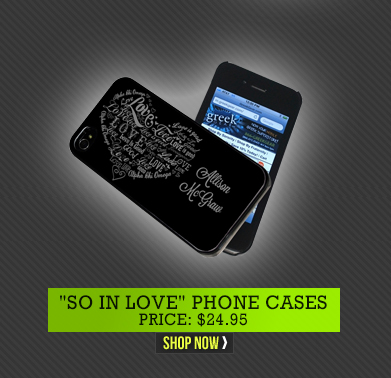 """So In Love"" Phone Cases"