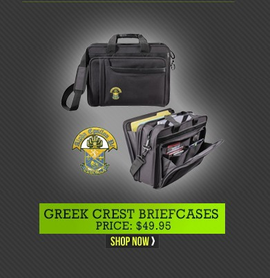 Greek Crest Briefcases