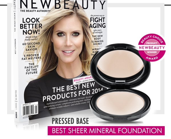 Pressed Base: Best Sheer Mineral Foundation