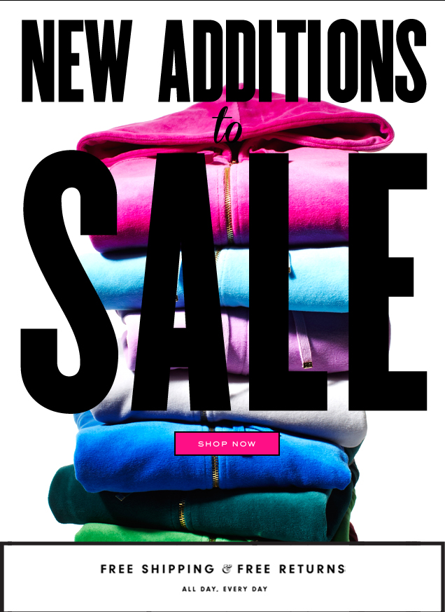 New Additions to Sale. SHOP NOW.